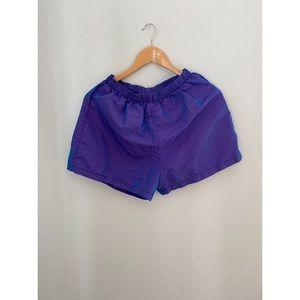 Vintage Neon Purple Weathervane Shorts Medium